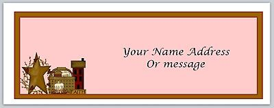 Personalized Address Labels Primitive Country Buy 3 Get 1 Free Xco 354
