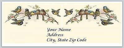 30 Personalized Return Address Labels Bird Buy 3 get 1 free (bi2)
