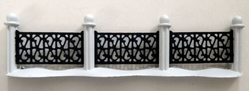 Miniature ~ Village Wrought Iron Fence ~ Dept. 56 ~ #5999-4 ~ set of 4
