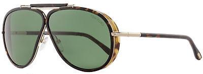 Tom Ford Aviator Sunglasses TF509 Cedric 52N Dark Havana/Gold (Havana Aviator Sunglasses)