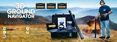 3d Ground Navigator 2 - Okm - 3d Ground Scanner - Magnetometer -treasure Hunter