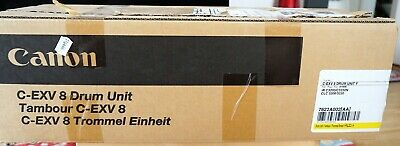 Canon original C-EXV 8 Drum Unit Yellow, NEW in BOX (Original Yellow Drum Unit)