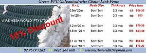 Reduce to clear on Green PVC Coated chian wire 2.1m*10m Arndell Park Blacktown Area Preview