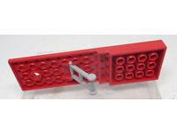 968 # Lego Stosszahn 1x3 Silber 3 Stück