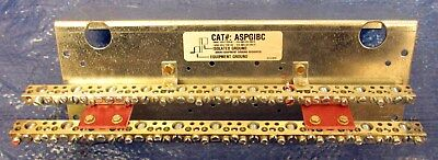 Ge Aspgibc Ground Bar - With Isolated Equipment Grounds - Nice