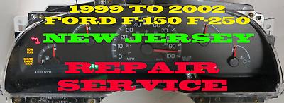 1999 to 2002 F150 F250 INSTRUMENT CLUSTER SOFTWARE & ODOMETER CALIBRATION SERV