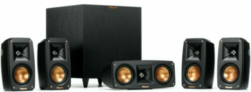 Klipsch Reference Theater Pack 5.1 Channel Surround Sound System Wireless Sub