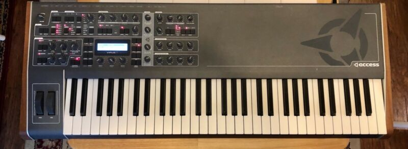 Access Virus TI2 Keyboard Synthesizer with Manual and Power Cord