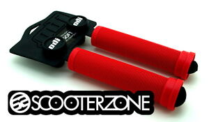 ODI-Longneck-SOFT-Grips-for-Scooters-BMX-Bikes-Flangeless-Grips-RED