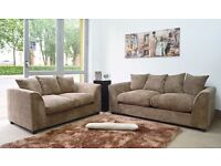 ** 14 DAYS MONEY BACK GUARANTEE ** DYLAN JUMBO CORD SOFAS IN STOCK - 3+2/CORNER/ SAME DAY DELIVERY