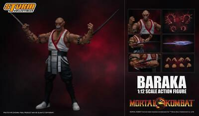 STM87091: Storm Collectible Mortal Kombat VS Series Baraka 1/12 Scale Figure - Baraka Mortal Kombat