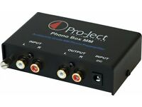 Project moving magnet/ moving coil disc stage pre-amp for turntables