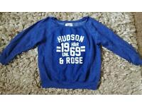 New look sweatshirt sz18 Hudson & Rose