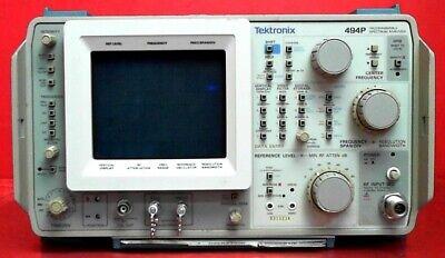 Tektronix 494p Spectrum Analyzer