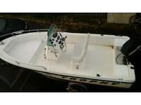 17ft bayliner trophy fast fisher