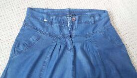 Womens Denim Skirt Size 16