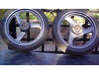Suzuki gs 500 wheels