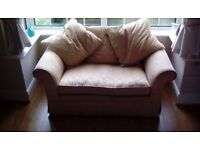 Laura Ashley Two Seater Sofa/ Snuggle Chair