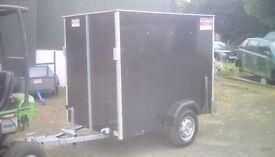6.4x4x5 Box trailer
