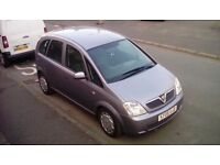 Vauxhall Meriva 05 plate ,looking for smaller car too swap