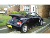 Volkswagen Beetle Convertible 1.4 2006 56 reg,79,000 mls £2,750