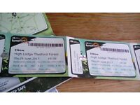 Tickets to see elbow at thetford forest on thursday 29th june...can no longer go.....