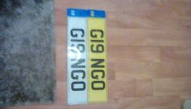 I am selling my number plate G19 NGO , gin ,ging, gingo