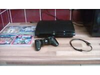 Ps3 console 320gb one controller 4 games