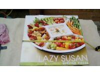Lazy Susan serving dish