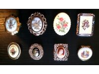 8 Assorted Scarf Rings (no.1)