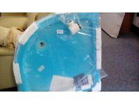 White B&Q shower tray #30542 £45