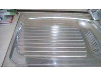 Kitchen sink and drainer
