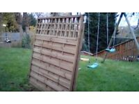 6x6 HERTFORD FENCE PANELS