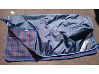 RHINO Exercise sheet with fleece lining