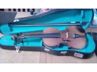 Violin with case size 1/4