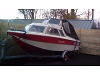 Microplus 502 boat and trailer