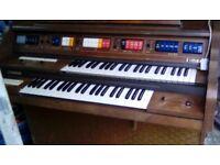 Kimball electric organ