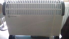 Electric convector heater.