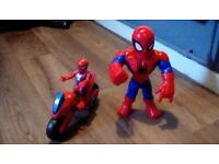 Kids spiderman toys