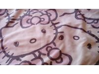 Single Hello Kitty bedspread