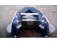 Inflaitable boat,excel sd235.only used once .