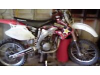 Crf450 03\04 breaking