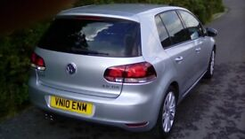 VW Golf Gt tdi, economical, sporty czr. Lots of history, well looked after, drives lovely.