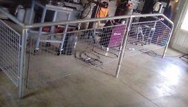 Galvanised hand rail