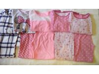 Girls pyjama bundle age 9-10 years