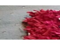Rag rug, handmade, stunning accessory