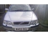 Estate volvo,v40s,2002,petrol