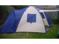 Large family Dome tent with 3 bedrooms
