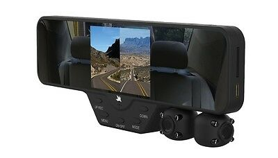 Falcon Zero F360 HD DVR Dual Dash Cam, Rear View Mirror, 1080p, Camera Video,