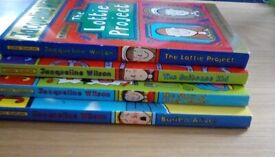 Selection of 4 Jacqueline Wilson books